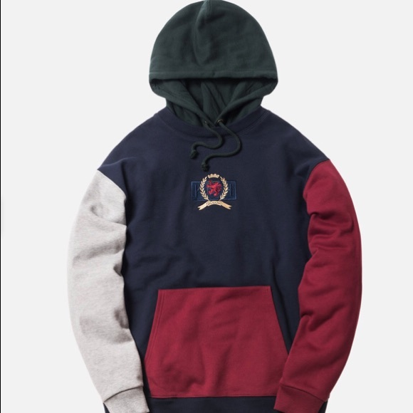 aa7ebbd32 Tommy Hilfiger Tops | Kith X Crest Hoodie Size Xs | Poshmark